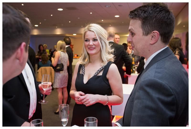 evening reception at Amplifon conference in Telford international centre
