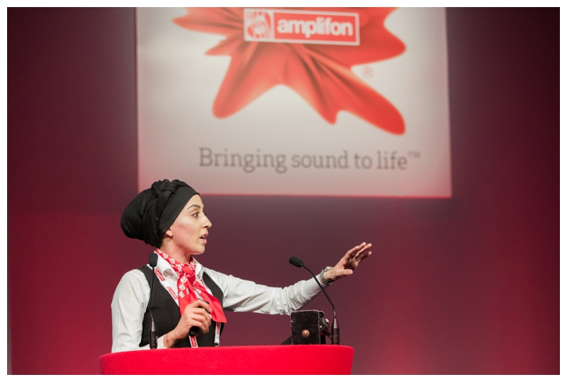 Presentation at Amplifon conference in Telford international centre