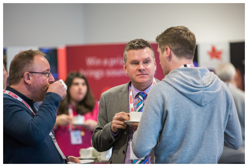 telford conference photography