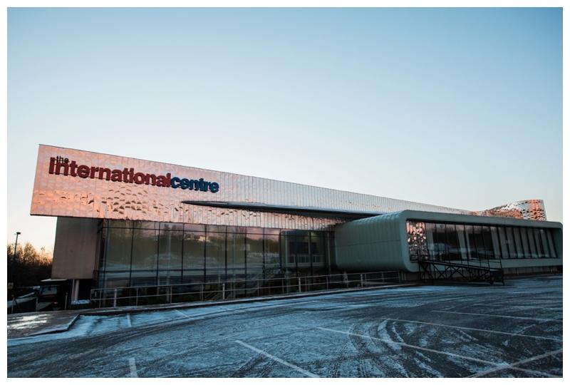 exterior of Telford international centre