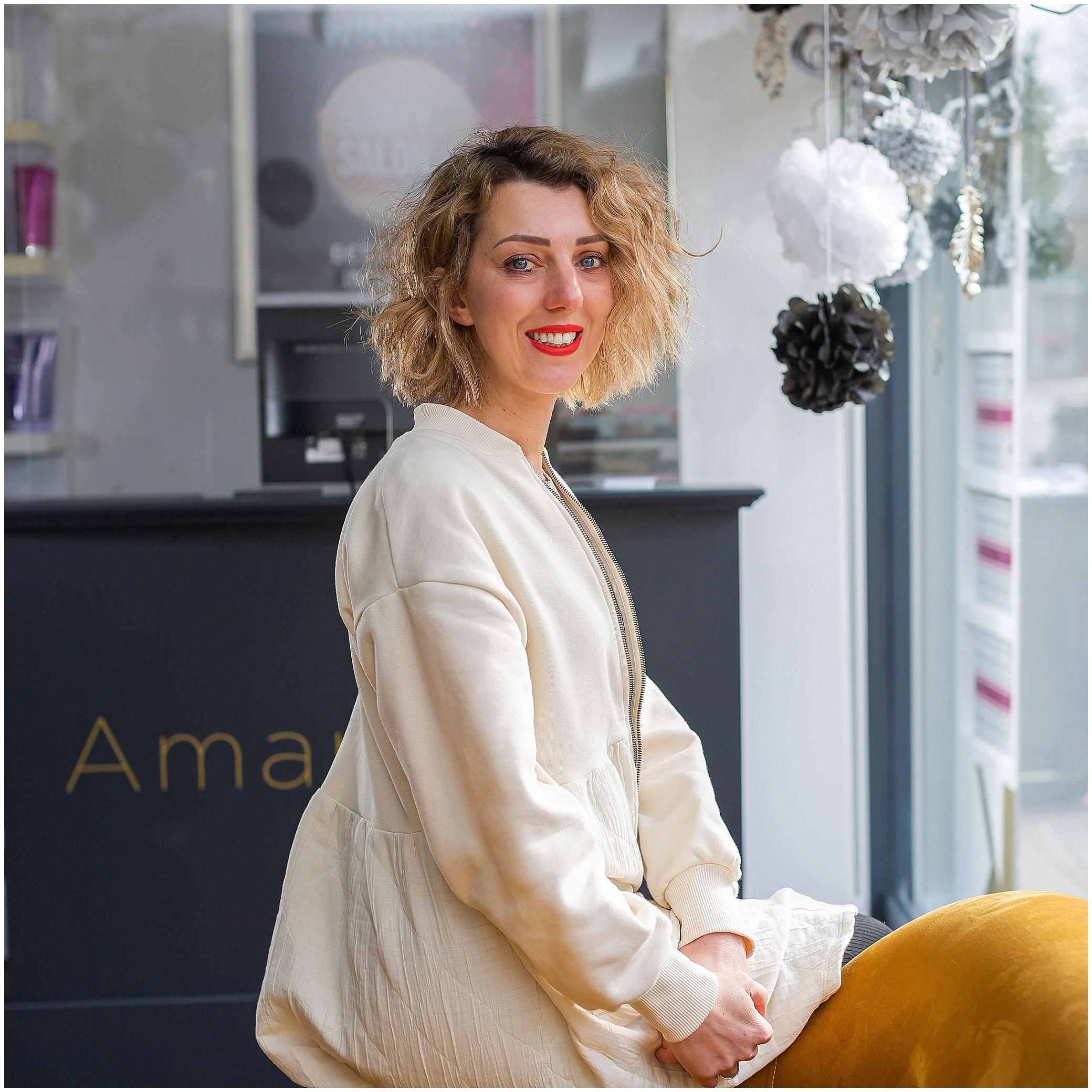 Commercial photography Weybridge Surrey business headshot of woman
