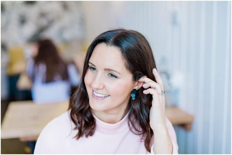 Portrait of luxury wedding planner in Parson's Green London