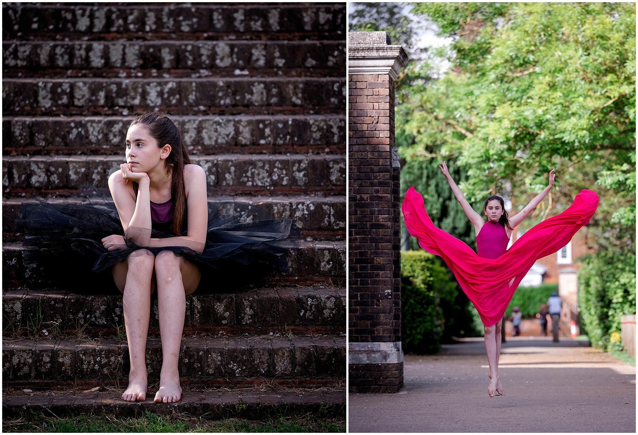 dance students posing in London